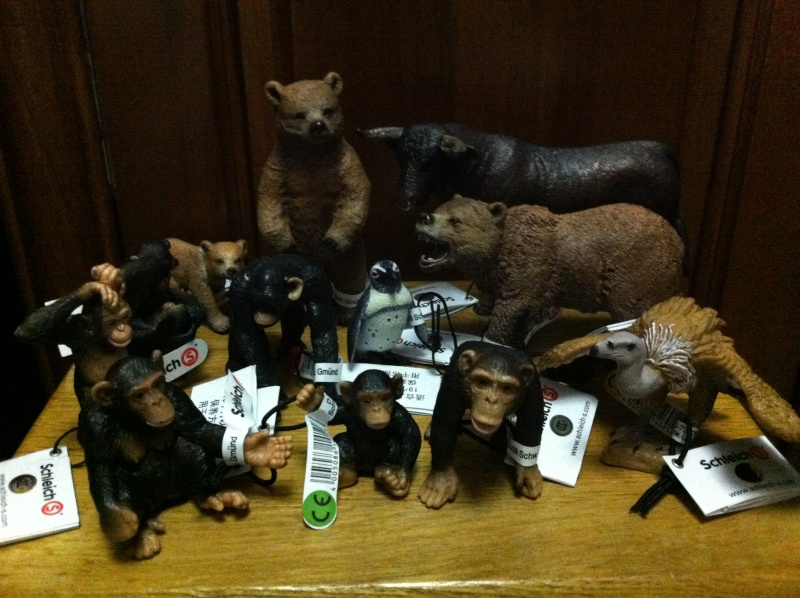 my new 2013 schleich animals Img_2012