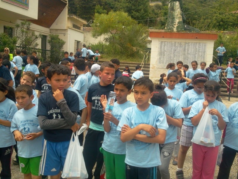 APC d'AOKAS et l'asociation sports et loisirs ont organises un marathon pour les enfants Photo380
