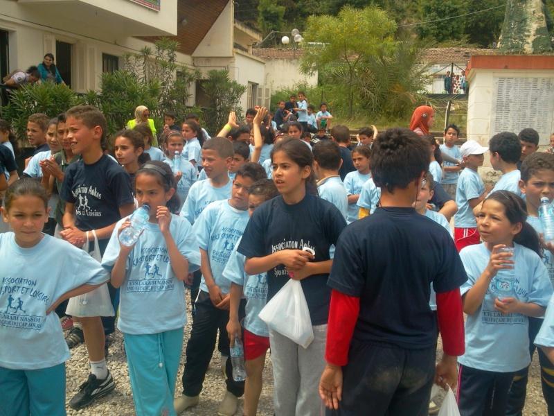 APC d'AOKAS et l'asociation sports et loisirs ont organises un marathon pour les enfants Photo381