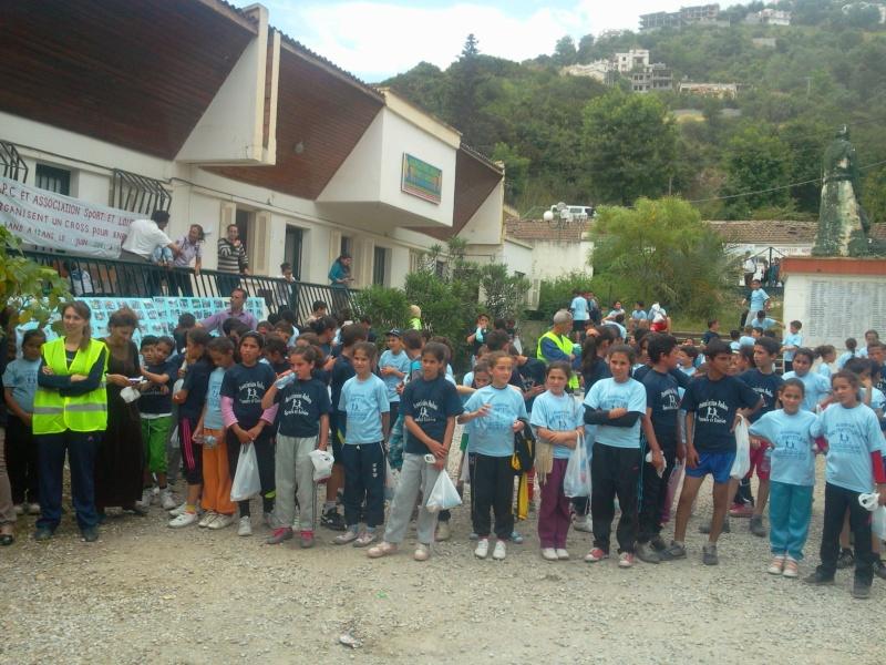 APC d'AOKAS et l'asociation sports et loisirs ont organises un marathon pour les enfants Photo387
