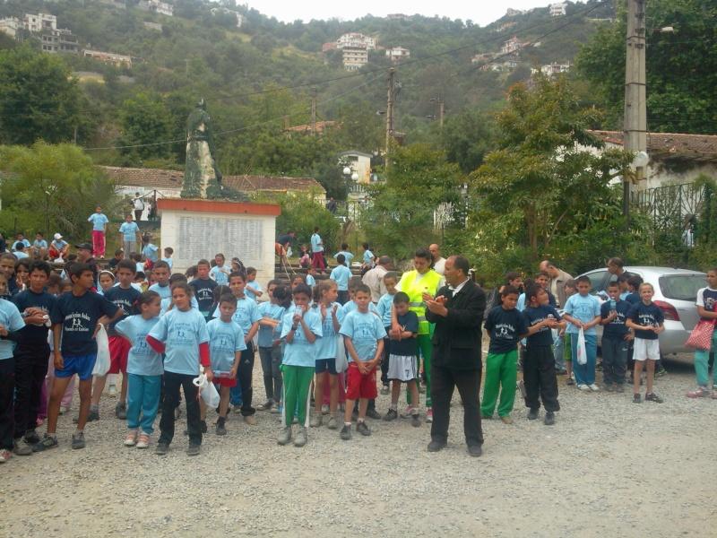APC d'AOKAS et l'asociation sports et loisirs ont organises un marathon pour les enfants Photo388