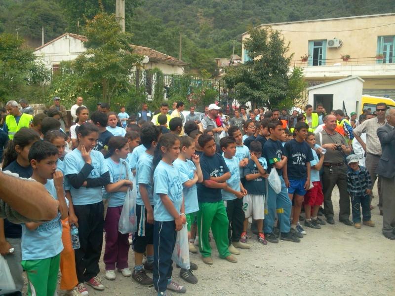APC d'AOKAS et l'asociation sports et loisirs ont organises un marathon pour les enfants Photo390
