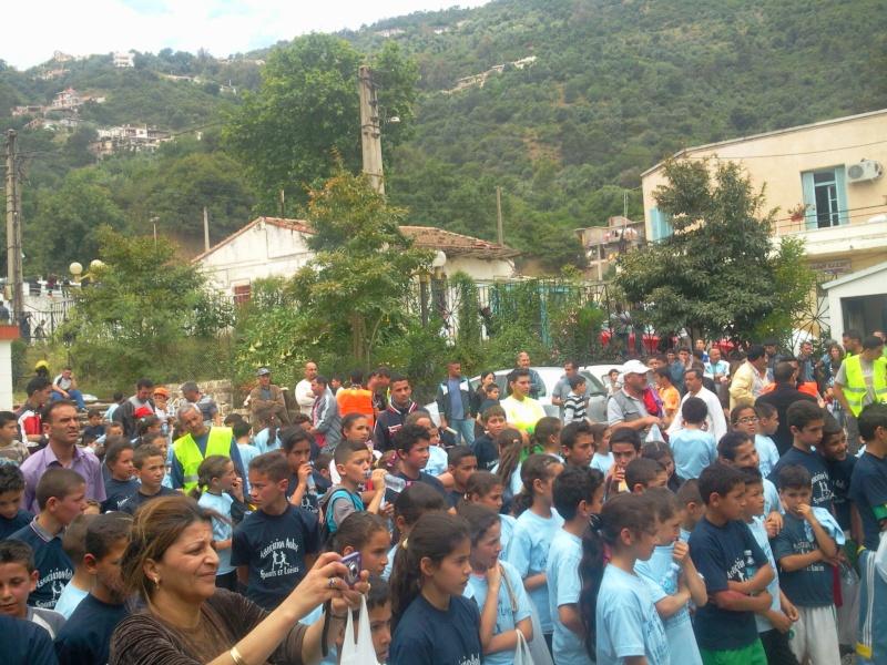 APC d'AOKAS et l'asociation sports et loisirs ont organises un marathon pour les enfants Photo391