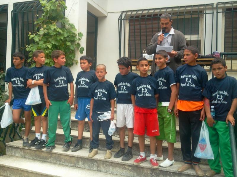 APC d'AOKAS et l'asociation sports et loisirs ont organises un marathon pour les enfants Photo392