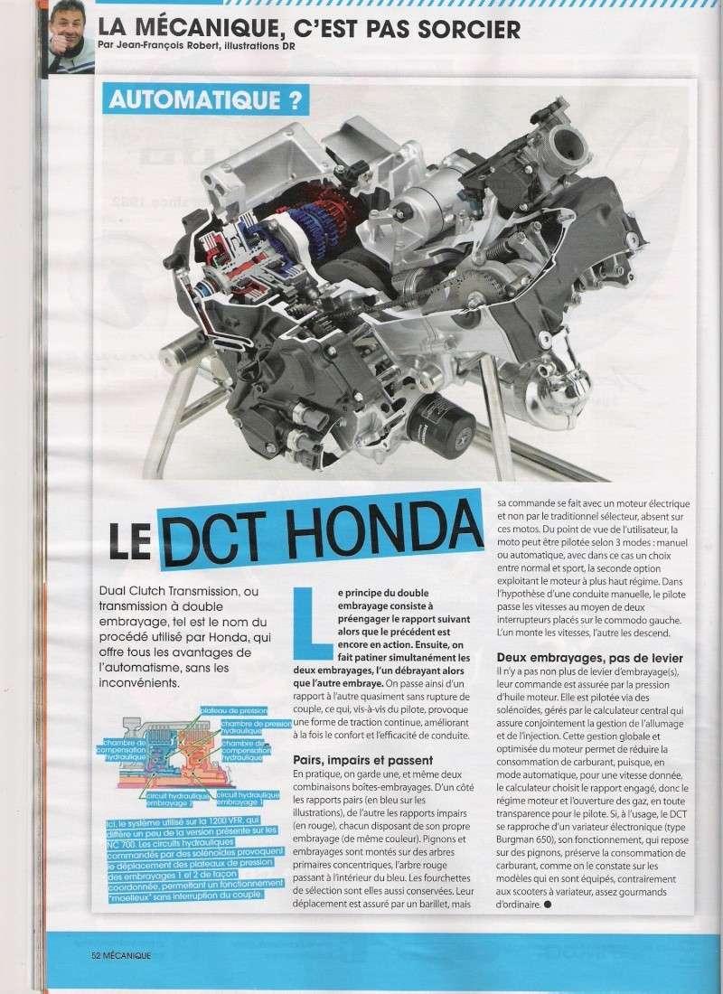 Essai gamme Honda DCT . Numari53