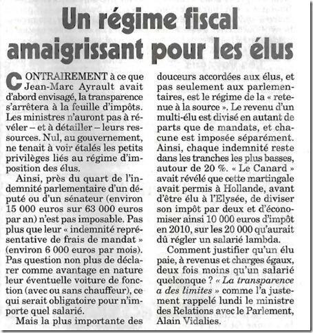 BUZZ Hollande dépasserait-il Cahuzac en matière de fraude fiscale ? Ragime10