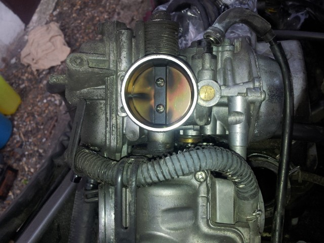 Deauville 650 : remise en état des carburateurs (retours de flammes !) 20130432