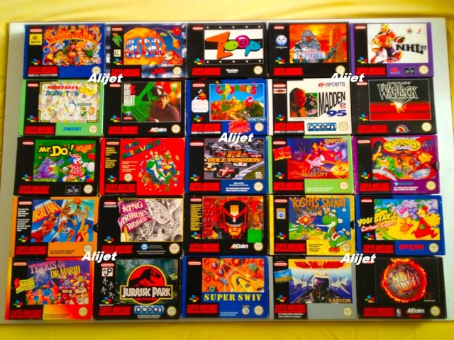 Collection d'Alijet  Snes310