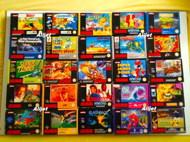 Collection d'Alijet  Snes410