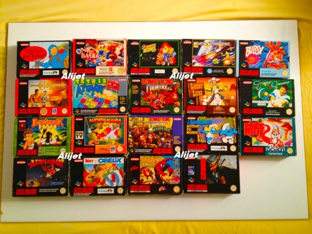 Collection d'Alijet  Snes510