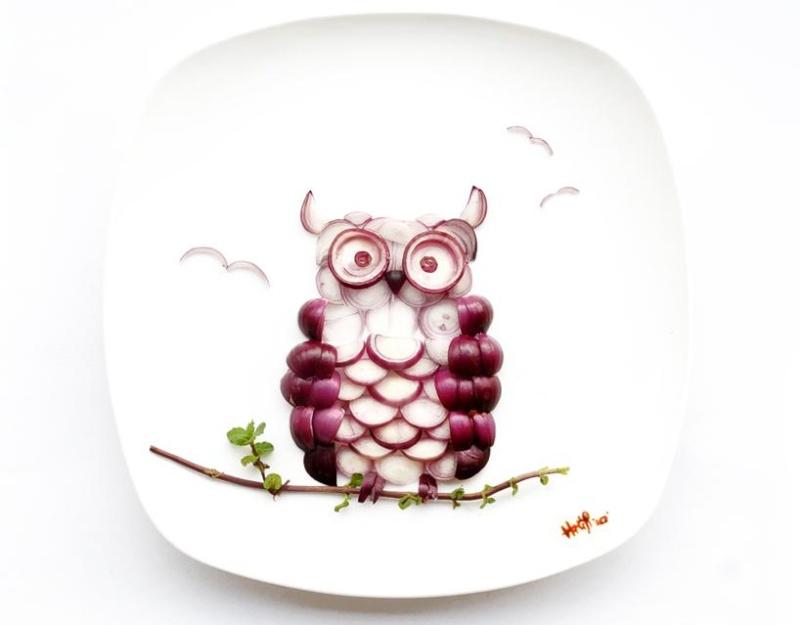 Dipingere con il cibo  Hongyi10