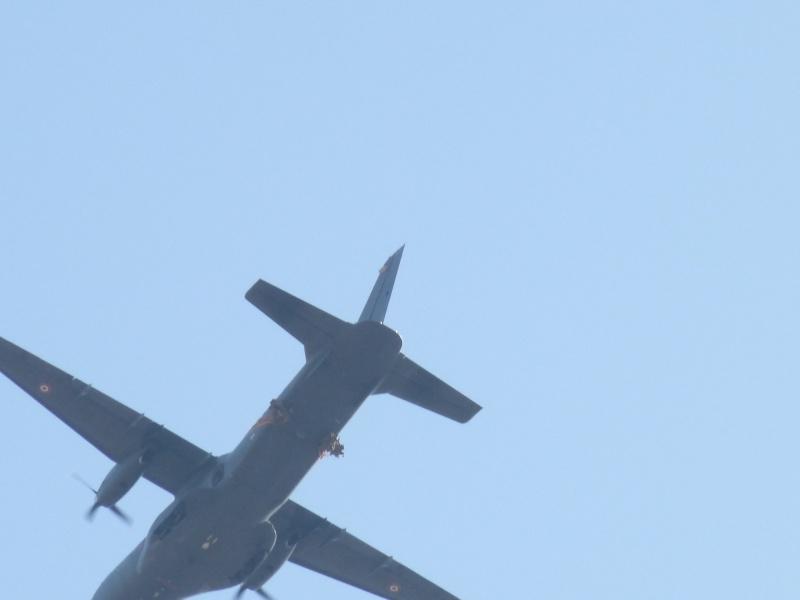 embarquement et saut de CASA à Pamiers du 1°R.C.P. P1010314