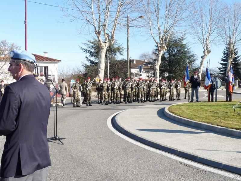 inauguration du rond point DRAKKAR a Pamiers en 2011 P1020210