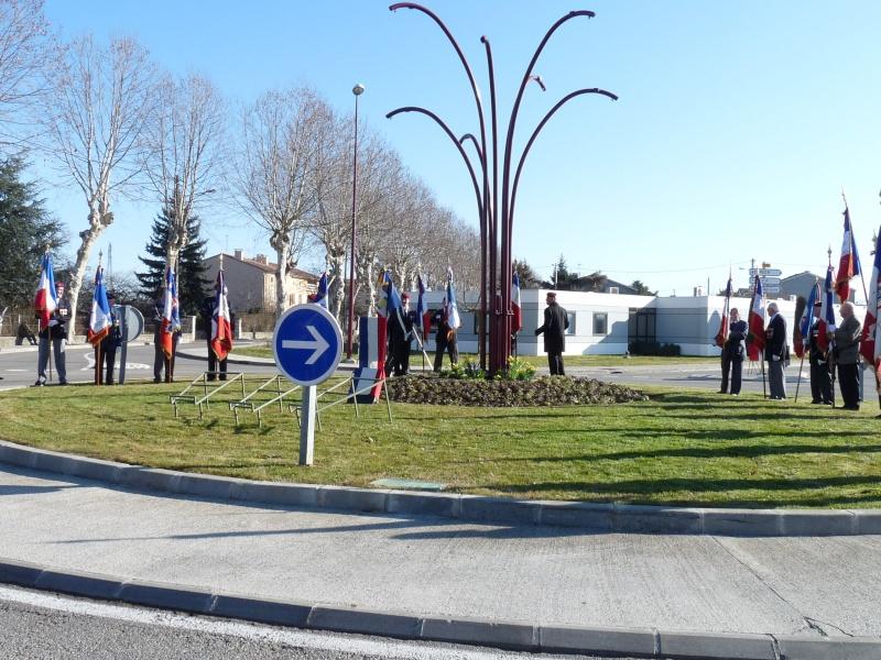 inauguration du rond point DRAKKAR a Pamiers en 2011 P1020211