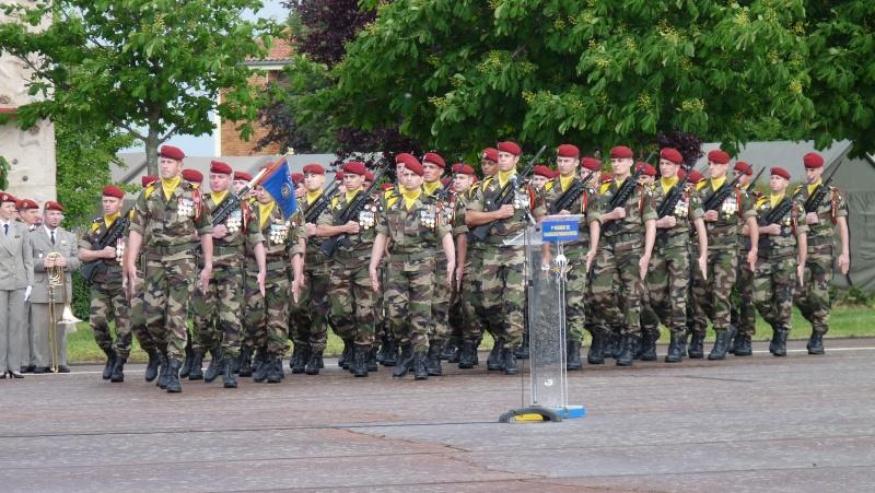 ceremonies au 1°R.C.P. le 1°juin 2013 P1040624