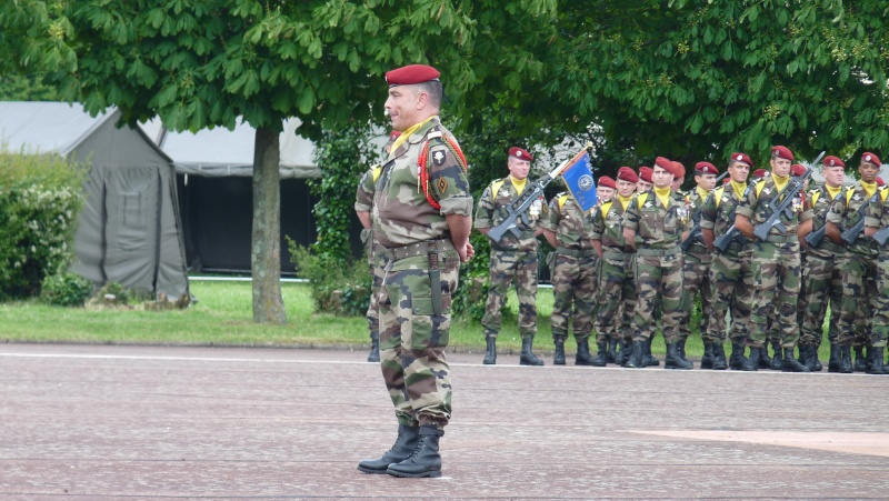ceremonies au 1°R.C.P. le 1°juin 2013 P1040627