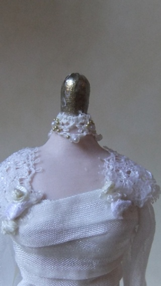 Edwardian bridal gown 04510