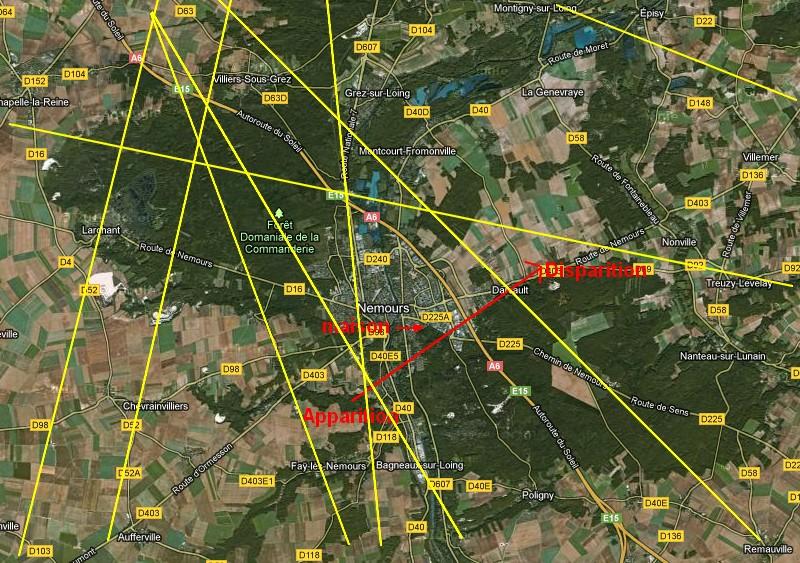 2013: le 10/05 à 23h30 - Boules lumineuses oranges - nemours - Seine-et-Marne (dép.77) Plan_o10