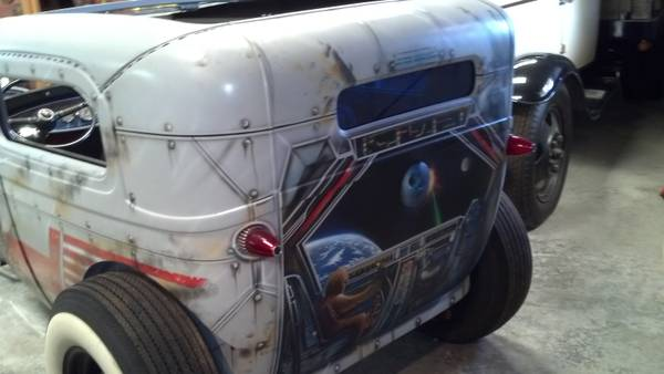 1929 Ford Model A coupe sedan. Star wars tribute... Must See 3g83f111