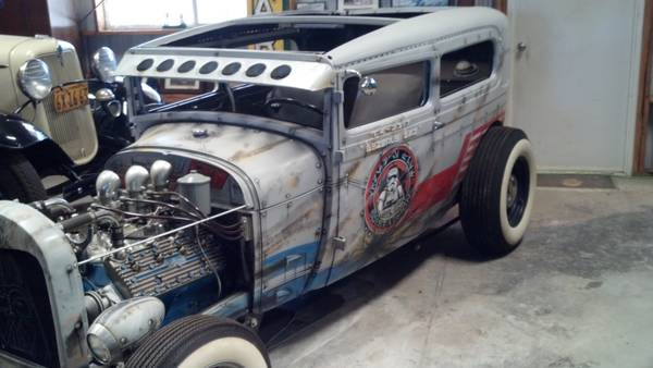 1929 Ford Model A coupe sedan. Star wars tribute... Must See 3ge3na12