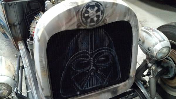 1929 Ford Model A coupe sedan. Star wars tribute... Must See 3if3n411