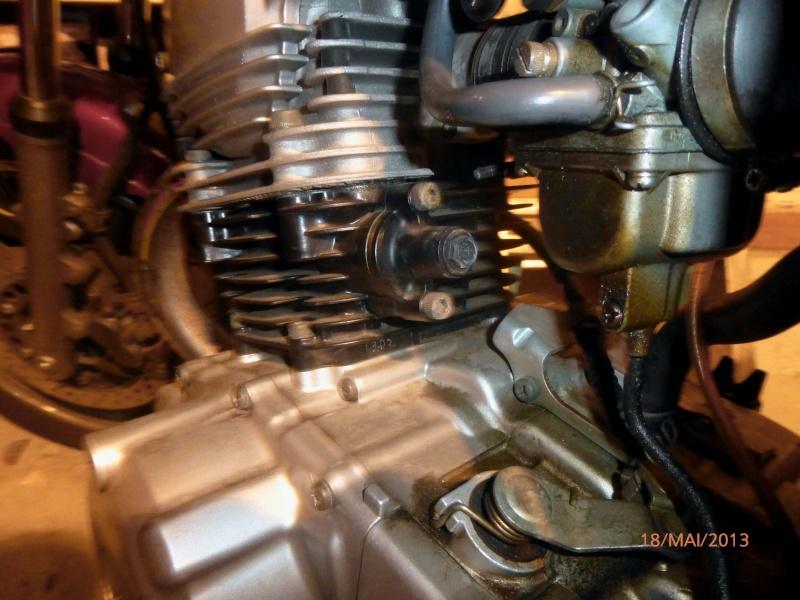 Cliquetis Sur Ma Yamaha Sr 125  P1000912