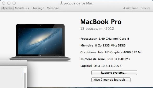 TUTO OSX 10.8.3.  PROBOOK 4540s (C4Y99EA) I5 Apropo19