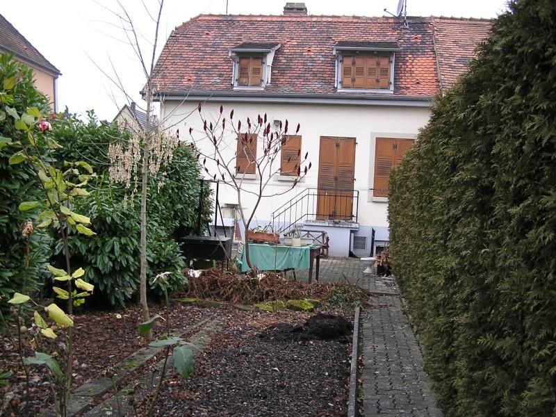 Vues du jardin Maison11