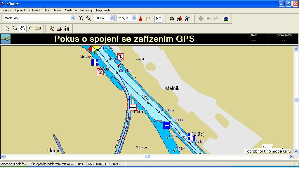 The map Garmin missing objects Nroute12