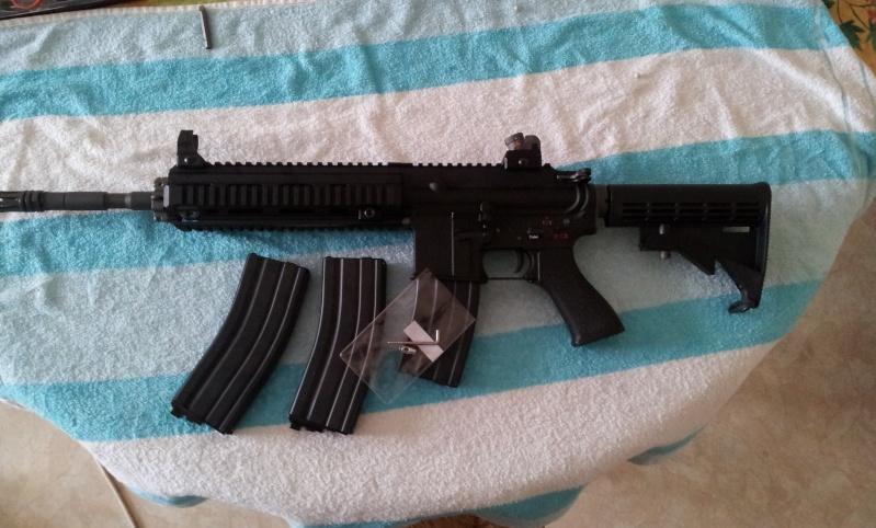 WE HK416 GBB 20130612