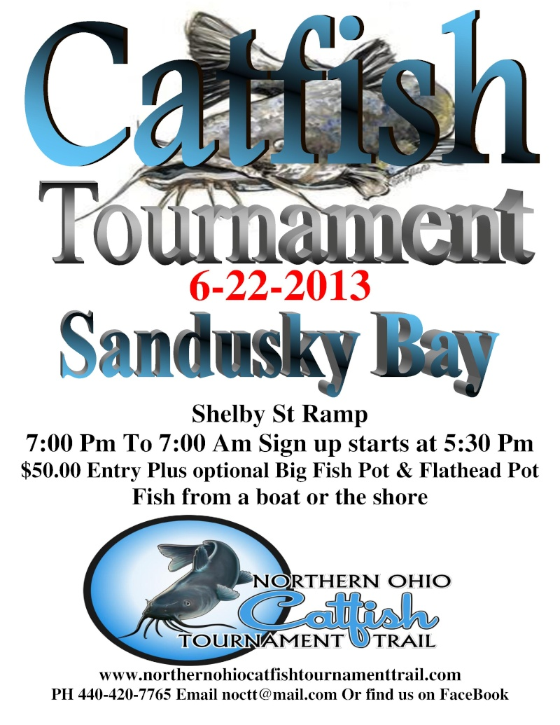 Sandusky Bay Catfish Tournament 6-22 Sandus14