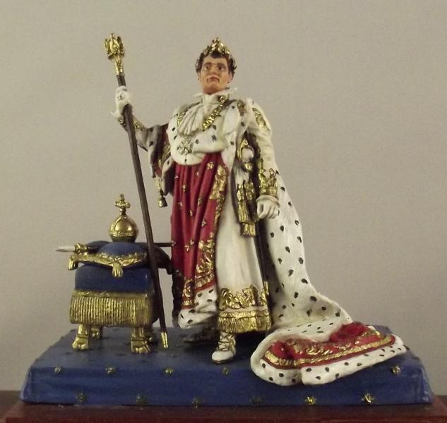 Napoleon im Krönungsornat K800_125