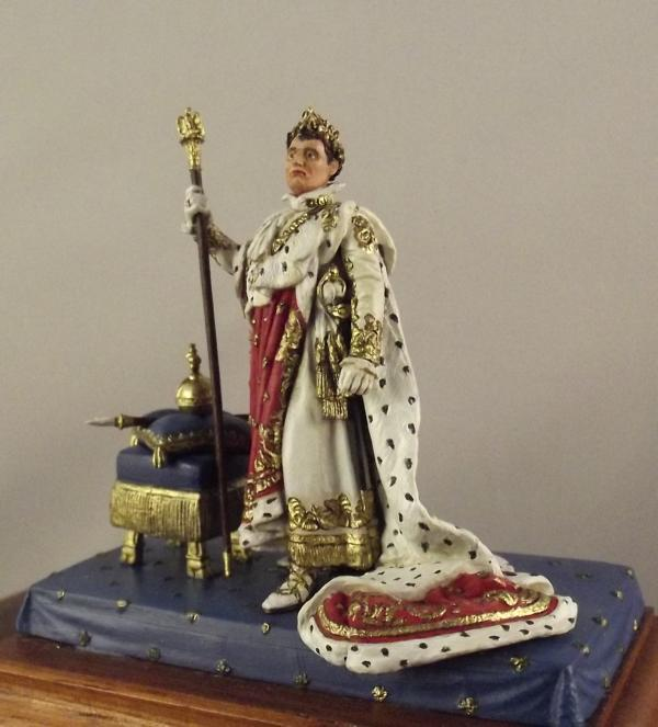 Napoleon im Krönungsornat K800_126