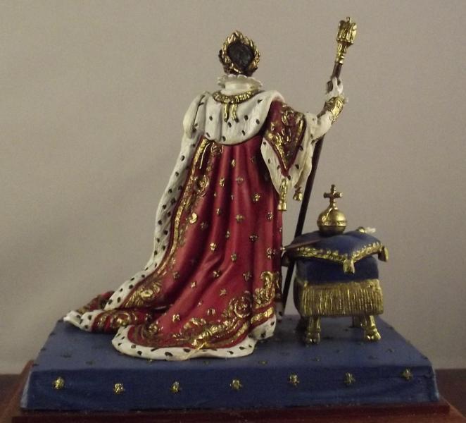 Napoleon im Krönungsornat K800_128