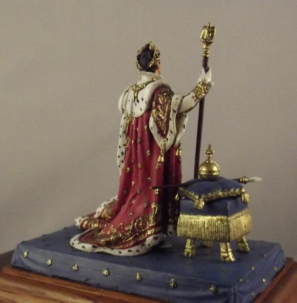 Napoleon im Krönungsornat K800_129