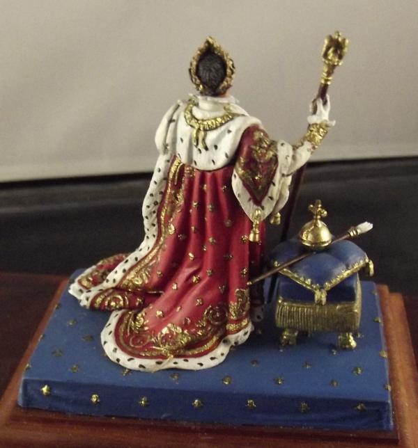 Napoleon im Krönungsornat K800_130