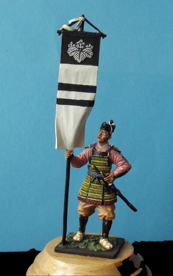 Ashigaru mit Standarte K800_137