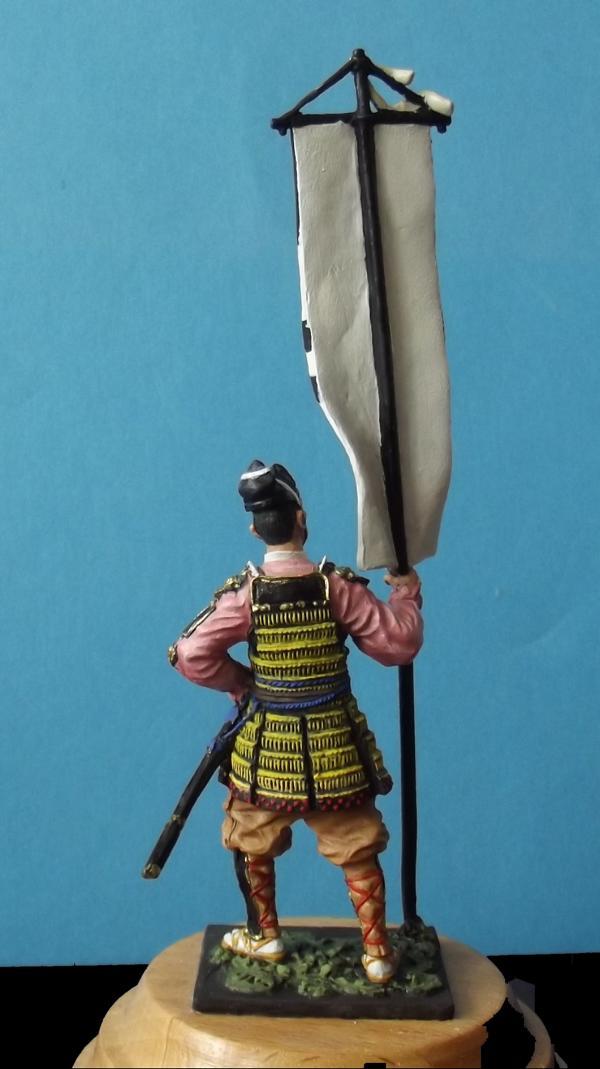 Ashigaru mit Standarte K800_138
