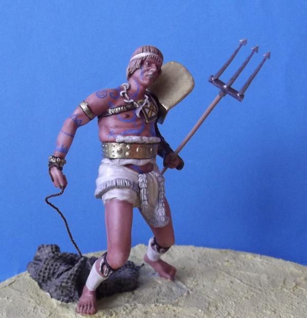 """Roman Gladiator """"Retiarius"""" K800_149"""