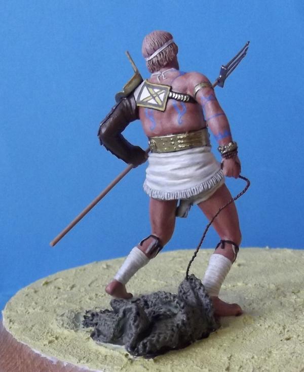 """Roman Gladiator """"Retiarius"""" K800_150"""