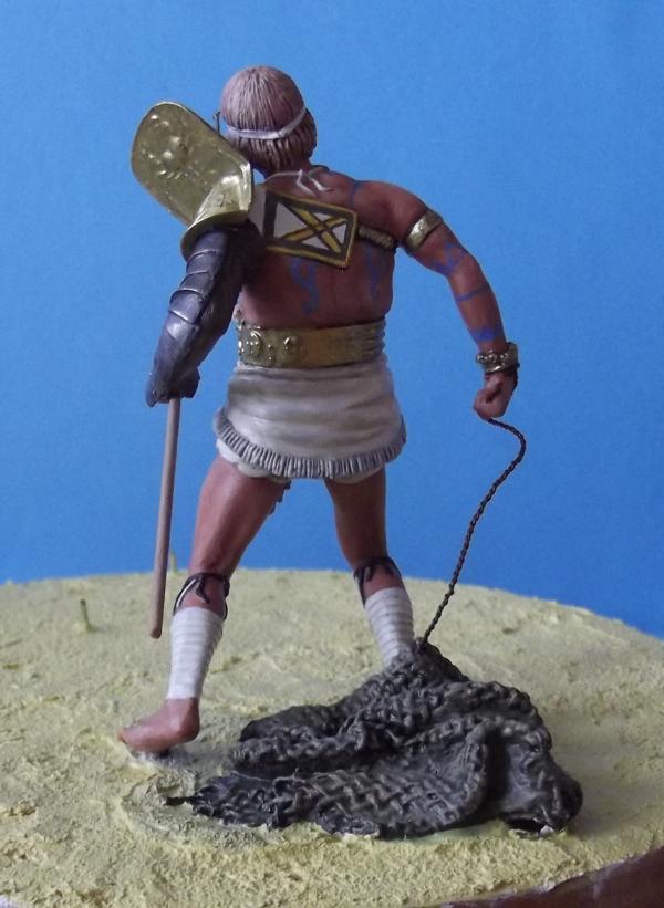 """Roman Gladiator """"Retiarius"""" K800_151"""