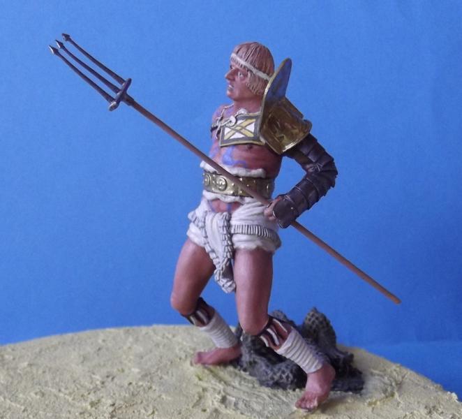 """Roman Gladiator """"Retiarius"""" K800_152"""