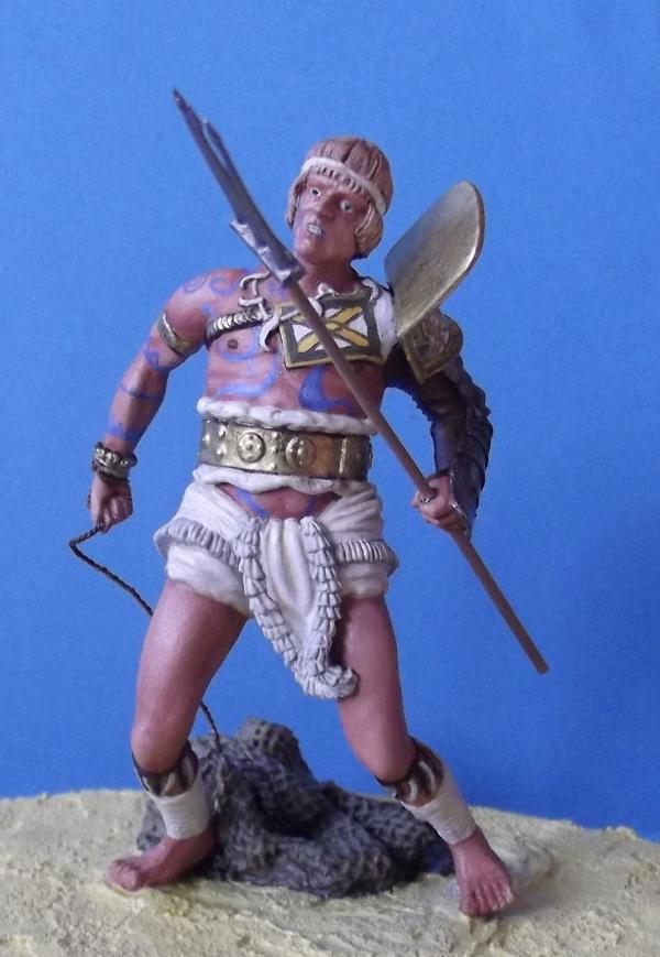 """Roman Gladiator """"Retiarius"""" K800_153"""