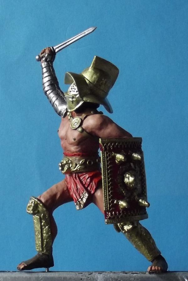 Hoplomachus mit Löwenschild K800_161
