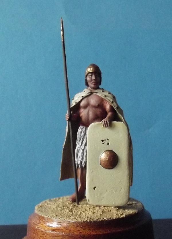 Sumerischer schwerer Infanterist, 2500 BC K800_173