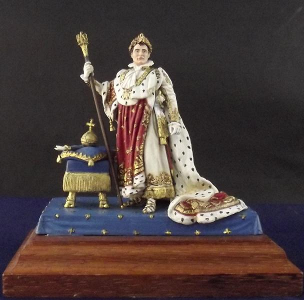Napoleon im Krönungsornat Nr. 2 u. Nr. 3 K800_201