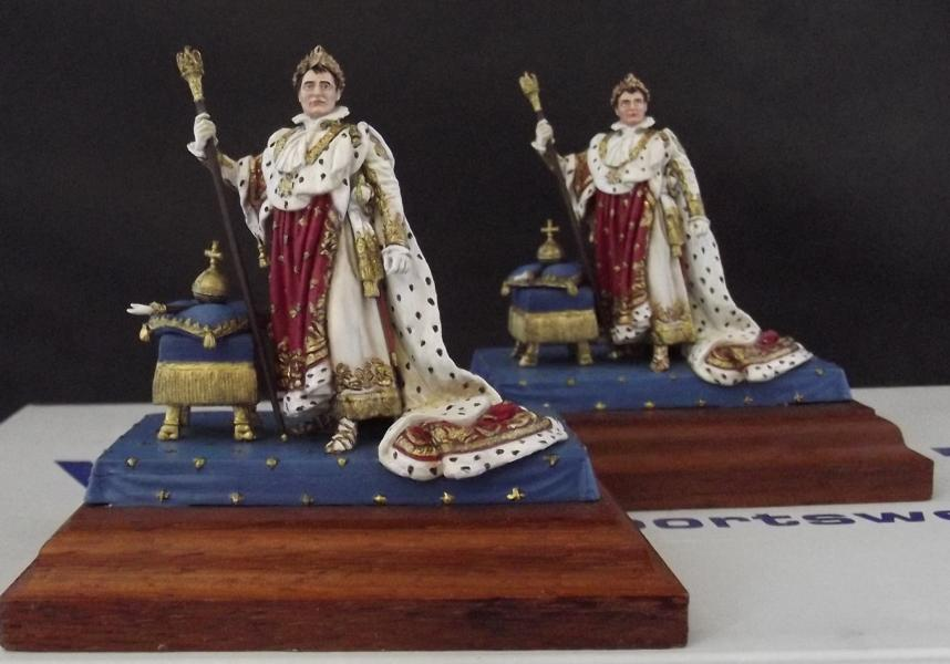 Napoleon im Krönungsornat Nr. 2 u. Nr. 3 K800_202
