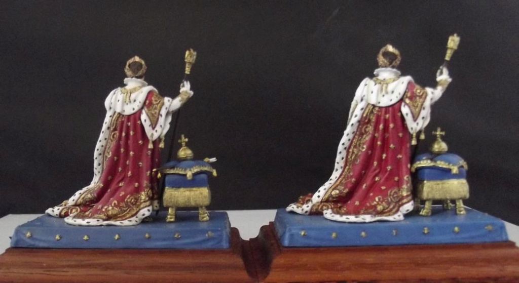 Napoleon im Krönungsornat Nr. 2 u. Nr. 3 K800_203