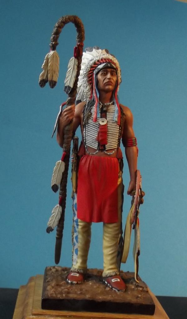 Sioux Lakota Krieger 1860 - 1870 K800_280