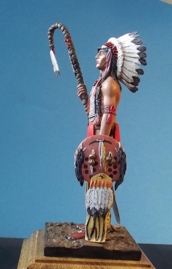 Sioux Lakota Krieger 1860 - 1870 K800_282